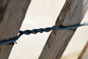 twisted fence by Love2B