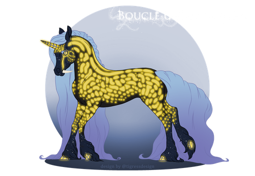 E218 Foal Design - Chandelure by MoxieMysteries