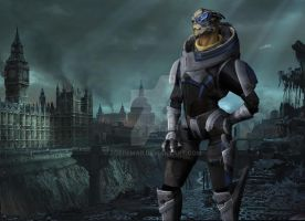 Garrus by ZoeDemar