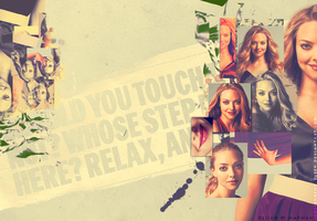 Wallpaper for Amanda Seyfried by InDependent-Queen