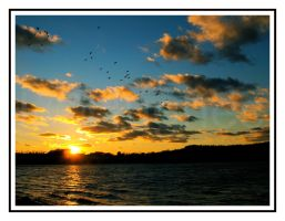 Another Sunset Picture by lehPhotography