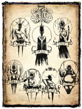 se7en Deadly Sins by ShawnCoss
