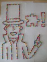 Layton made with Smarties 2 by kenabe