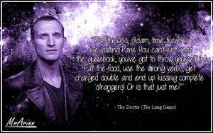 Doctor Who - Ninth Doctor Qoute by MrArinn