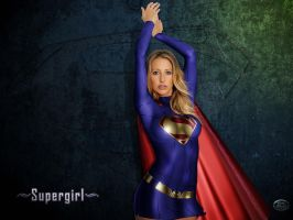 Supergirl Desktop by wolverine1607