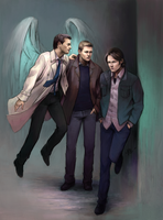 Supernatural - Trinity by KarlaFrazetty