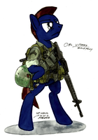 Corporal Withers by FirstAwesomePlatoon
