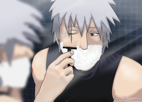 Morning Routine ~ Kakashi by serenitytouched