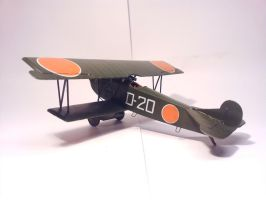 Dutch Fokker D.VII MLD 003 by BlokkStox