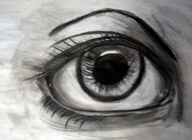 Female Eye Study by Dalamar789