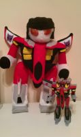 Plushie Armada Starscream by simulacra242