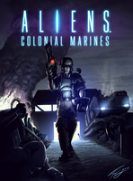 Aliens Colonial Marine 2013 by FrancoFerrari