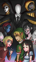Slender's Children by MoonlightSiieda