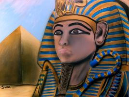 Tutankhamun by dx