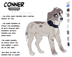 P.A.W.S. Subject - Conner by Soldjagurl
