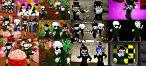 Have a very Homestuck Christmas by tinystalker