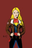 Captain Marvel - Carol Danvers by chrismas-81