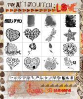 My ArtJournal Love by Diamara