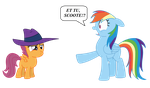 Et tu Scoote by cloudwatcherpony