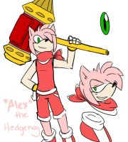 genderbended Amy by greeniebobeeniekid