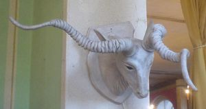 Goat Stock on Wall IV by ChaosStocks