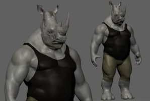 Rocksteady - Wip2 by onetruth