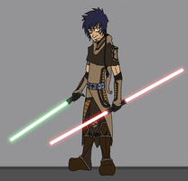 Allen Answer, guardian Jedi by DaGreatVincE