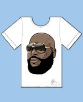 Rick Ross Tee by Rolsey