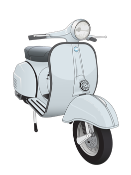 Vector of Vespa Rally 180 by EM3DI