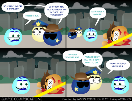 SC588 - Murder in Circle City 3 by simpleCOMICS