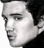 Elvis Presley by nikkigal88
