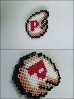 Super Mario 3 P wing bead sprite by 8bitcraft