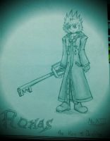The key of Destiny: Roxas by lollypop071