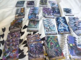 Real Life Shadow Paladin deck by Wind-Adepts