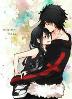 For BrookeVeil: Dimitri X Haru by naYEAH