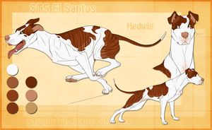 STS Dog - Hedwig by ShockTherapyStables