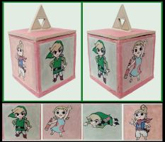 Legend of Zelda WW - Ceramic Box by tomo-chi