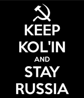 Keep Kol'in and Stay Russia ^J^ by TheCheshireRat