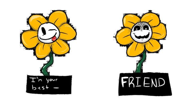 Flowey by ryleamorris