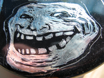 Metal Trollface by Vincentmrl