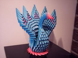 Origami Peacock by twilight-apple