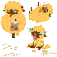 Oro the golden sheep by VocaloidIchigo