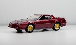 GreenLight 1989 Pontiac Trans Am GTA in Drk Red by Firehawk73-2012