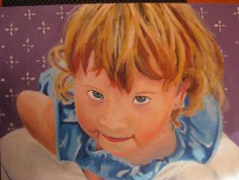 Young child with Acrylics by TheReza13