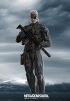 MGS4 Old Snake by GeorgeSears1972
