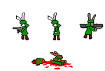 Bunny Soldiers by ImperialGuardsmen78