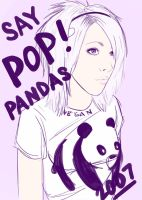 SAY POP PANDAS by Pimpstress22
