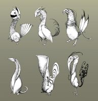 Feathered Creatures by ConceptualMachina