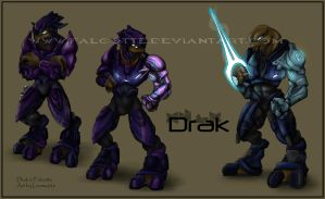 Drak 'Volamee's Biography by Falcotte