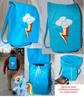 Pony Backpack by dragonariaes